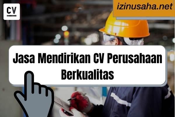 Jasa Pembuatan CV Perusahaan Berkualitas