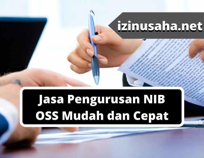 Jasa Pengurusan NIB OSS Mudah dan Cepat